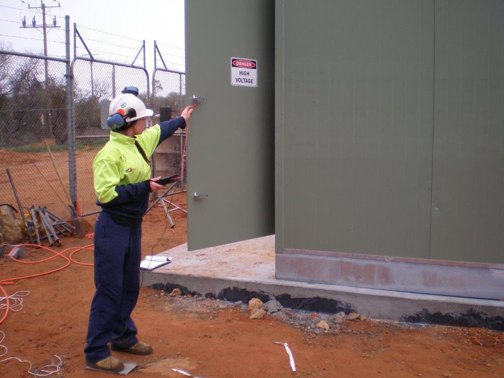 Testing High-voltage equipment
